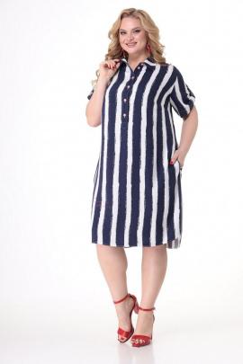 Платье Кэтисбел 1511 полоска