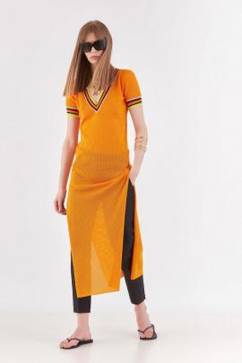 Туника Lakbi 52322 оранжевый