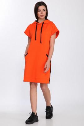 Платье Faufilure С1182 оранж