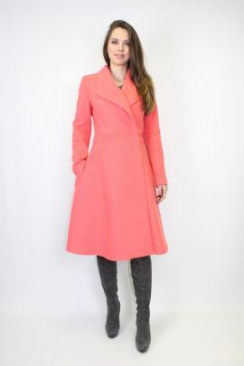 Пальто VLADOR 500511 персиковый