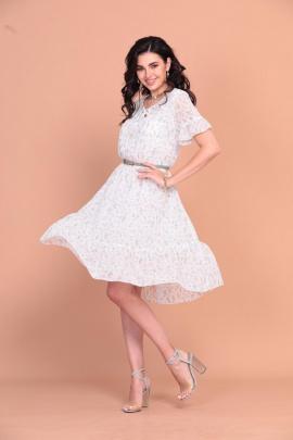 Платье Твой имидж 1254 белый
