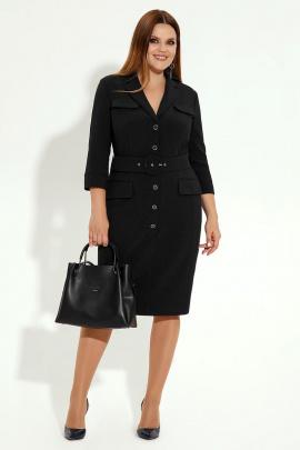 Платье Панда 12180z черный
