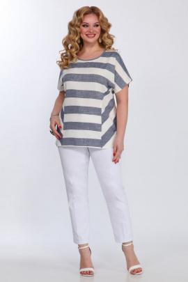 Блуза Matini 4.964 широкая_полоска