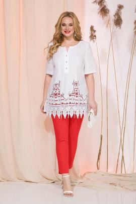 Комплект Liliana 969В белый+красный