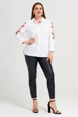 Рубашка Панда 33343z белый