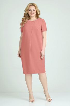 Платье ELGA 01-704 коралл