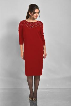 Платье Faufilure outlet С809 красный