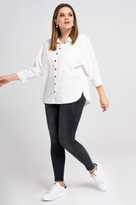 Рубашка Панда 31640z белый