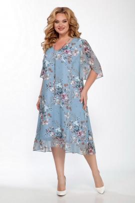 Платье LaKona 1221 голубой