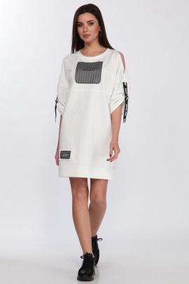 Платье Faufilure С1184 молочный