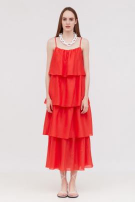 Платье Lakbi 52221 красный