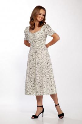 Платье Dilana VIP 1719/5 крем-брюлле