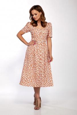Платье Dilana VIP 1719/6 карамель