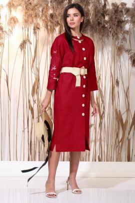 Платье Faufilure С1162 красный
