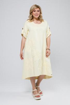 Платье Pretty 674 ваниль
