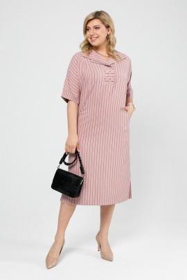 Платье Pretty 1990 пыльная_роза_полоска