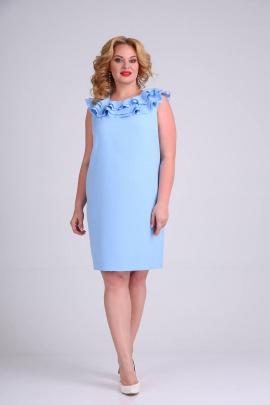 Платье SVT-fashion 458 голубой