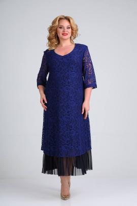 Платье SVT-fashion 541 темно-синий