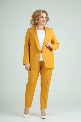 Женский костюм SVT-fashion 526 желтый