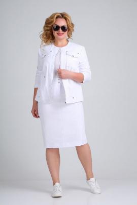 Женский костюм Ивелта плюс 2520 белый