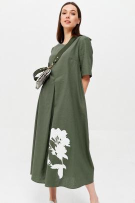 Платье Lyushe 2626 хаки