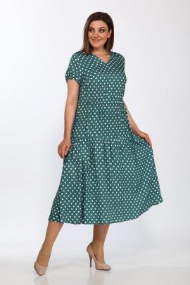 Платье Lady Style Classic 2298 темная-бирюза