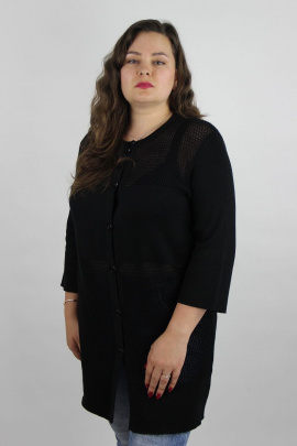 Жакет Полесье С2985-19 9С0374-Д43 158,164 черный_антрацит