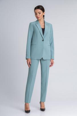 Женский костюм IVARI 10403 бирюза