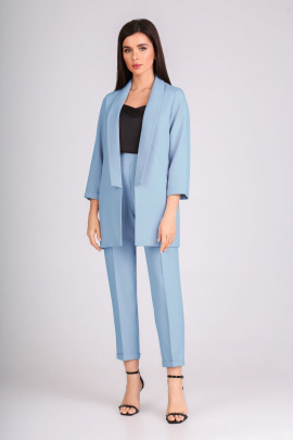 Женский костюм IVARI 10305 голубой