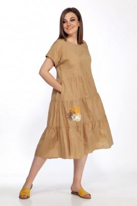 Платье FOXY FOX 304 горчица