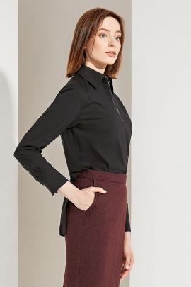 Блуза Moveri by Larisa Balunova 2816 черный