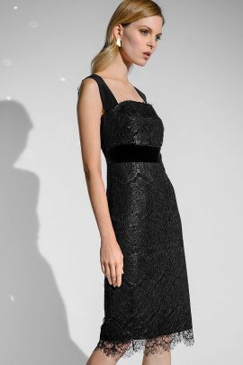 Платье Moveri by Larisa Balunova 5287 черный