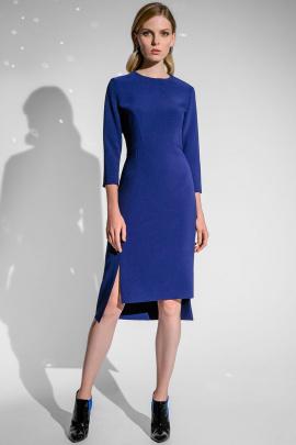 Платье Moveri by Larisa Balunova 5335 синий