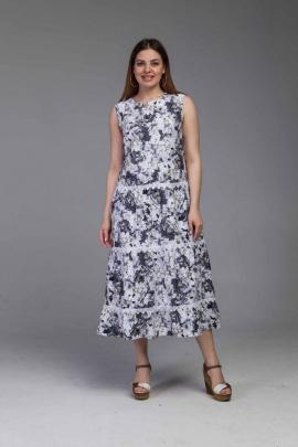 Платье Almila-Lux 1075 серый