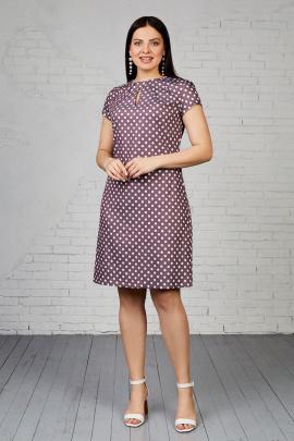 Платье Almila-Lux 1001 шоколадный
