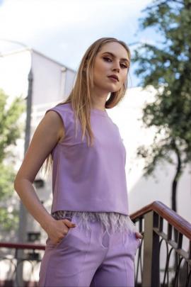 Блуза Moveri by Larisa Balunova 2733 сиреневый