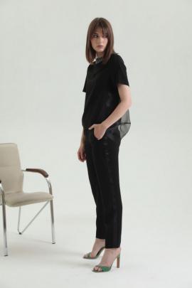 Блуза Moveri by Larisa Balunova 2837 черный