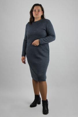 Платье Полесье С4663-20 0С2081-Д43 164 темный_стальной