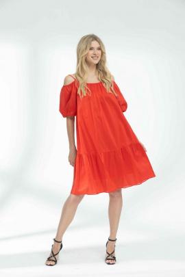 Платье Vladini DR1159 красный