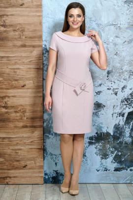Платье Белтрикотаж 6254 пудра