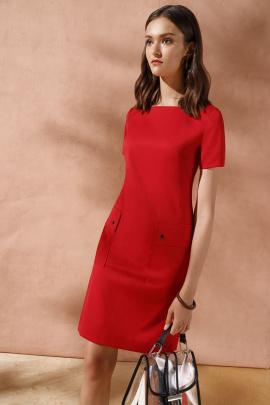 Платье Nelva 5944 красный