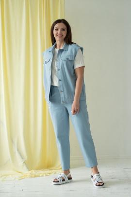 Женский костюм Angelina 678 голубой