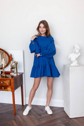Платье KRASA 243-21 ярко-синий