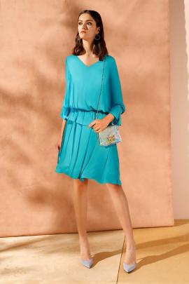 Платье Nelva 5949 изумрудный