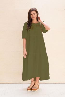 Платье Faufilure С1057 олива