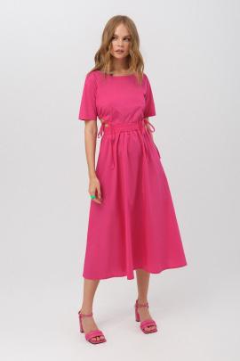 Платье PiRS 3160 ярко-розовый