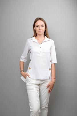 Блуза Mita ЖМ999 белый