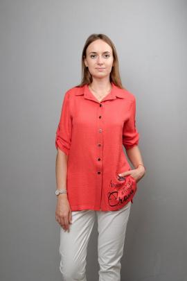 Блуза Mita ЖМ1032 красный