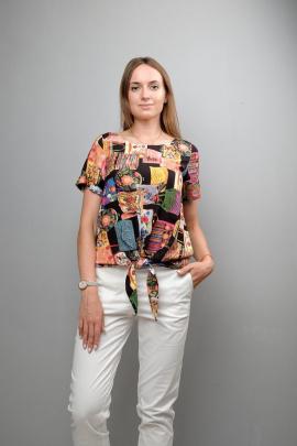 Блуза Mita ЖМ1051 мультиколор