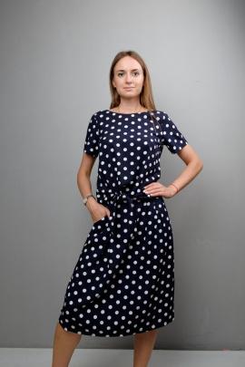 Блуза Mita ЖМ1051 горох